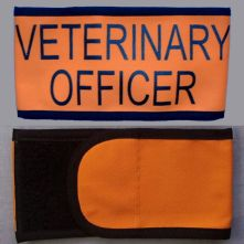 Wrap Armband - Veterinary Officer